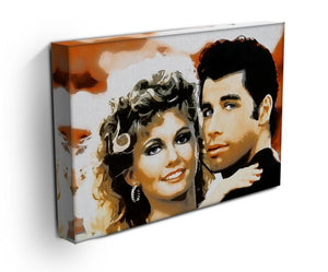 Grease Print - Canvas Art Rocks - 3
