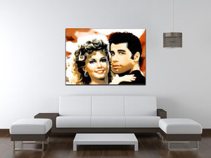Grease Print - Canvas Art Rocks - 4