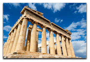 Greek Ruins Print - Canvas Art Rocks - 1