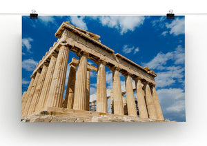Greek Ruins Print - Canvas Art Rocks - 2