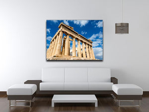Greek Ruins Print - Canvas Art Rocks - 4