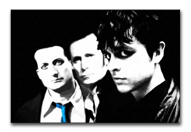 Green Day Print - Canvas Art Rocks - 1