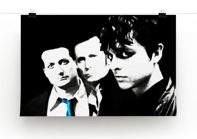 Green Day Print - Canvas Art Rocks - 2