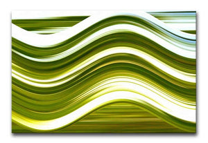 Abstract Wave Print - Canvas Art Rocks - 1