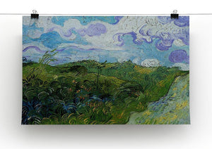 Green Wheat Fields by Van Gogh Canvas Print & Poster - Canvas Art Rocks - 2