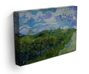 Green Wheat Fields by Van Gogh Canvas Print & Poster - Canvas Art Rocks - 3