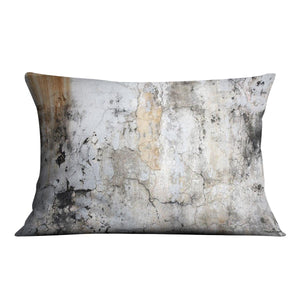 Grunge cracked wall Cushion - Canvas Art Rocks - 4