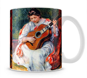 Guitarist by Renoir Mug - Canvas Art Rocks - 1