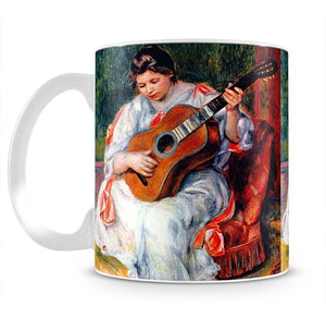 Guitarist by Renoir Mug - Canvas Art Rocks - 2