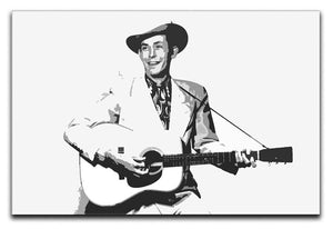Hank Williams Canvas Print or Poster  - Canvas Art Rocks - 1
