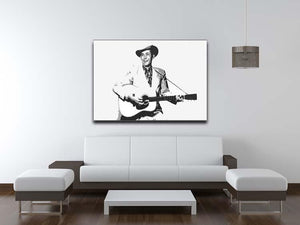Hank Williams Canvas Print or Poster - Canvas Art Rocks - 4