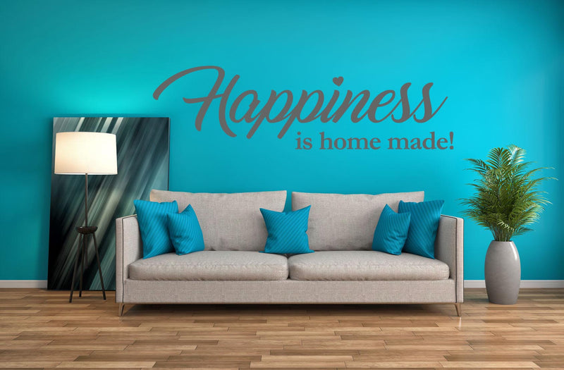 Happiness Wall Decal - Canvas Art Rocks - 1