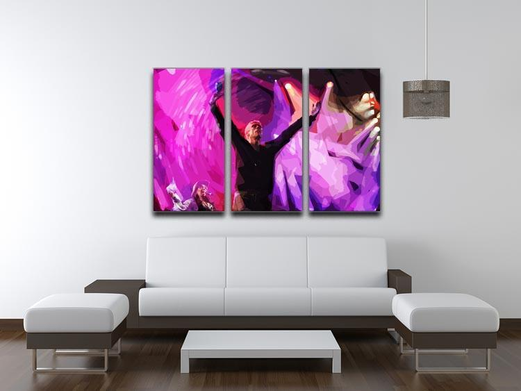 Happy Mondays 3 Split Panel Canvas Print - Canvas Art Rocks - 3