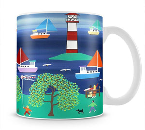 Happy days by Gordon Barker Mug - Canvas Art Rocks - 1