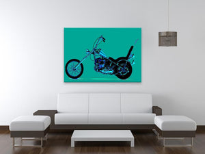 Harley Davidson Print - Canvas Art Rocks - 4