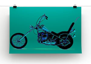 Harley Davidson Print - Canvas Art Rocks - 2