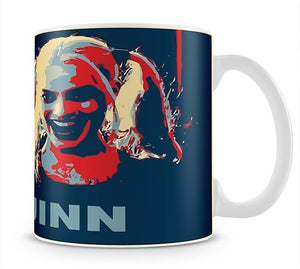Harley Quinn Pop Art Mug - Canvas Art Rocks - 1