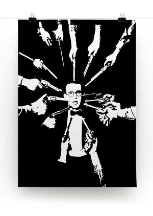Harold Lloyd Guns to the Head Print - Canvas Art Rocks - 2