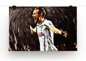 Harry Kane Print - Canvas Art Rocks - 2