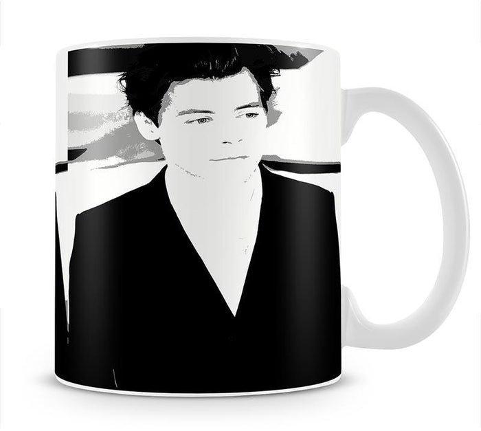 Harry Styles from One Direction Pop Art Mug