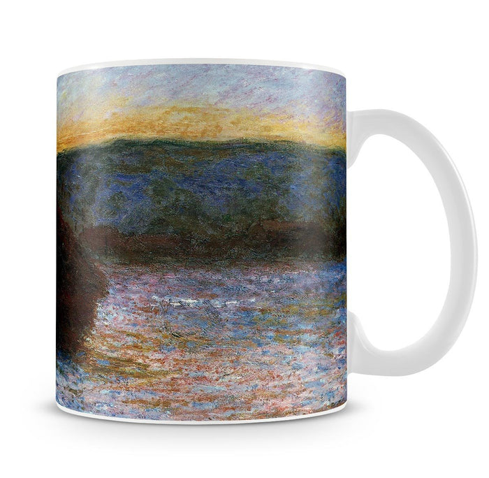 Haylofts thaw sunset by Monet Mug