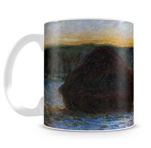 Haylofts thaw sunset by Monet Mug - Canvas Art Rocks - 4