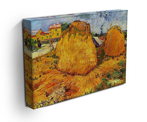 Haystacks in Provence by Van Gogh Canvas Print & Poster - Canvas Art Rocks - 3