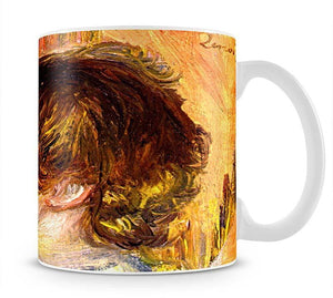 Head of a young girl by Renoir Mug - Canvas Art Rocks - 1