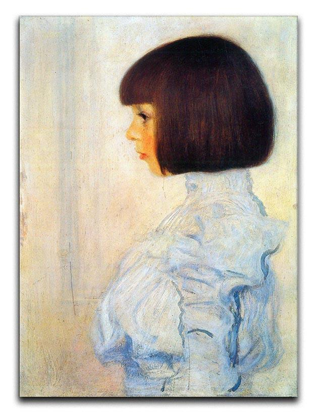 Helene Klimt portrait by Klimt Canvas Print or Poster  - Canvas Art Rocks - 1