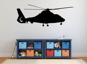 Helicopter Version 2 Wall Decal - US Canvas Art Rocks