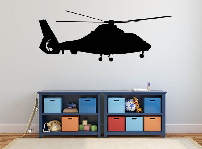 Helicopter Version 2 Wall Sticker