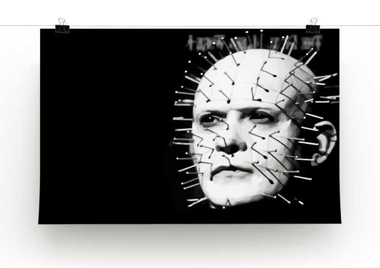 Hellraiser Pinhead Print - Canvas Art Rocks - 2