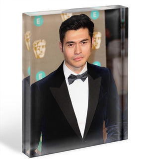 Henry Golding Acrylic Block - Canvas Art Rocks - 1