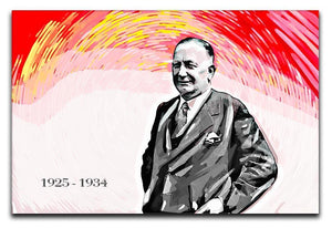Herbert Chapman Canvas Print or Poster  - Canvas Art Rocks - 1