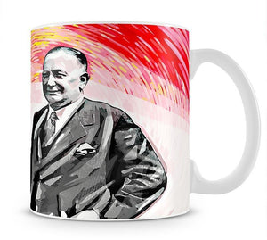 Herbert Chapman Mug - Canvas Art Rocks - 1