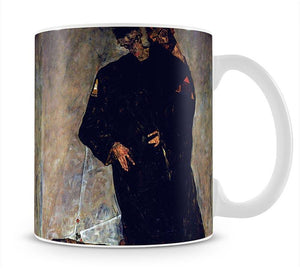 Hermits by Egon Schiele Mug - Canvas Art Rocks - 1