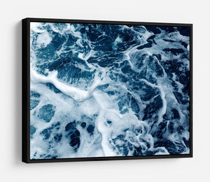 High Angle View Of Rippled Water HD Metal Print