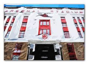 Highbury Stadium Print - Canvas Art Rocks - 1