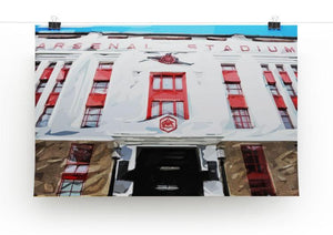 Highbury Stadium Print - Canvas Art Rocks - 2