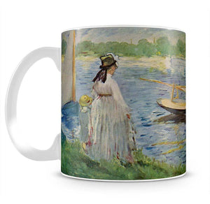 His embankment at Argenteuil by Manet Mug - Canvas Art Rocks - 2