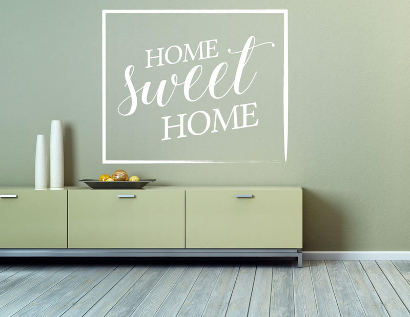 Home Sweet Home Wall Decal - Canvas Art Rocks - 1