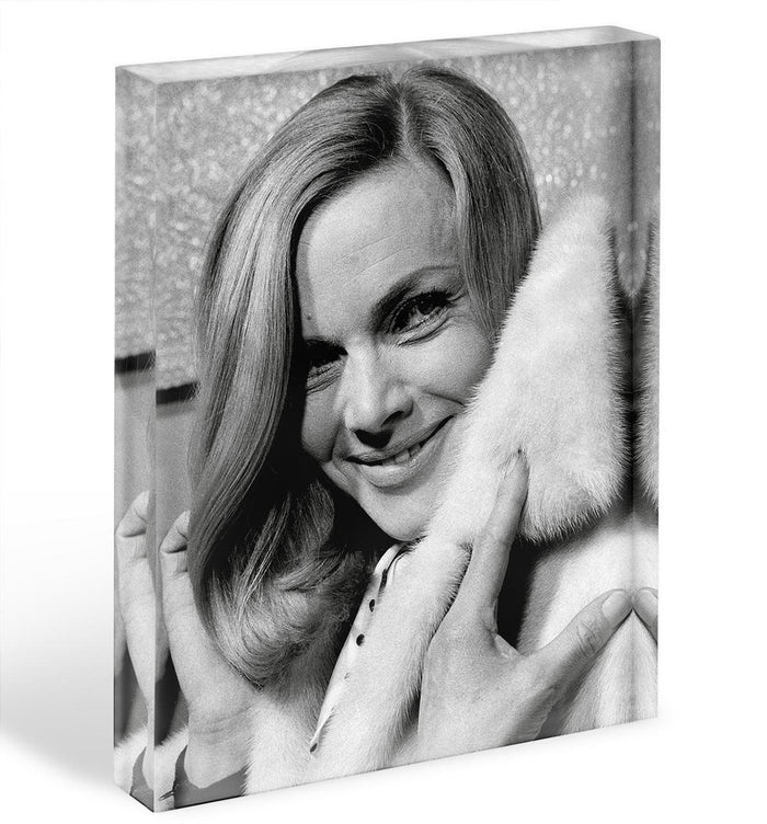 Honor Blackman 1968 Acrylic Block