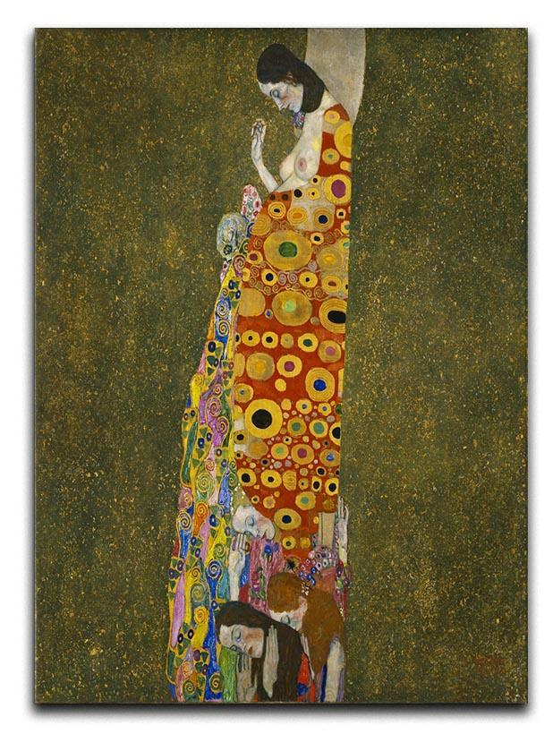 Hope II by Klimt Canvas Print or Poster  - Canvas Art Rocks - 1