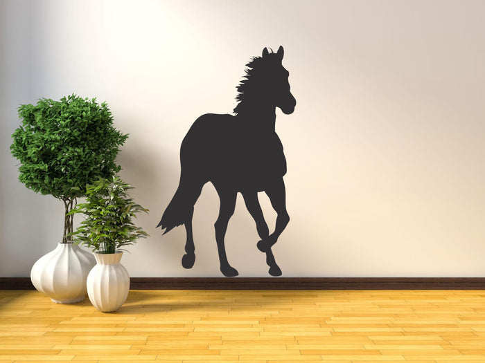 Horse Silhouette - Version 5 Wall Sticker