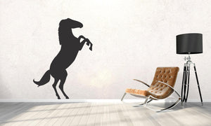 Horse Silhouette Wall Decal - Canvas Art Rocks - 1