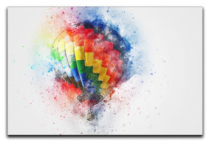 Hot Air Ballon Splash Canvas Print or Poster  - Canvas Art Rocks - 1