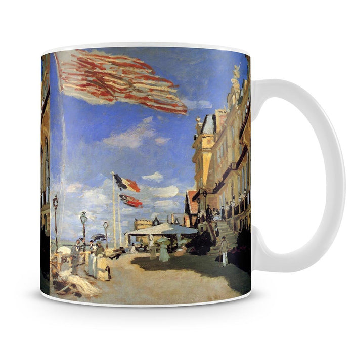 Hotel de Roches Noires a Trouville by Monet Mug