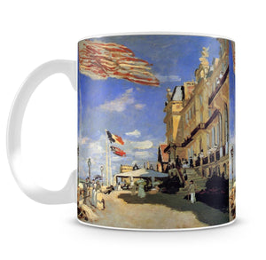 Hotel de Roches Noires a Trouville by Monet Mug - Canvas Art Rocks - 4
