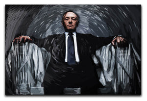 House Of Cards Canvas Print & Poster - US Canvas Art Rocks