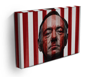 House Of Cards Frank Underwood Canvas Print & Poster - US Canvas Art Rocks